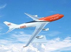 仿真塑料飛機模型B747-400