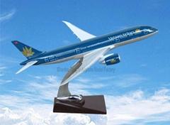 仿真樹脂飛機模型B787