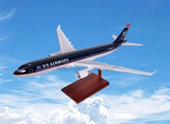 仿真樹脂飛機模型A330-300