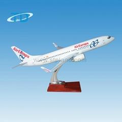 仿真樹脂飛機模型 B737-800