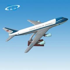 仿真樹脂飛機模型 B747-200