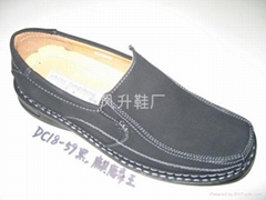 世界流行男休闲皮鞋