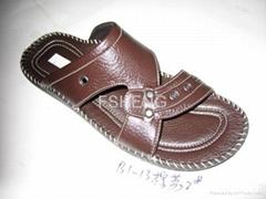 男休闲皮鞋,加洲包子鞋,沙滩凉拖鞋