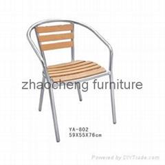 户外木椅子