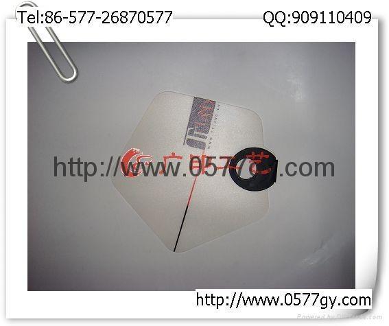 广告扇七折扇塑料扇PP中柄扇礼品O形扇纸扇 1