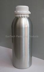 Aluminium bottle for essence packaging