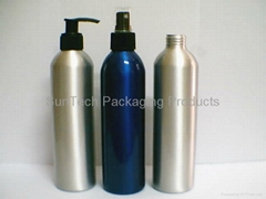 Aluminium bottle for cosmetic packaging