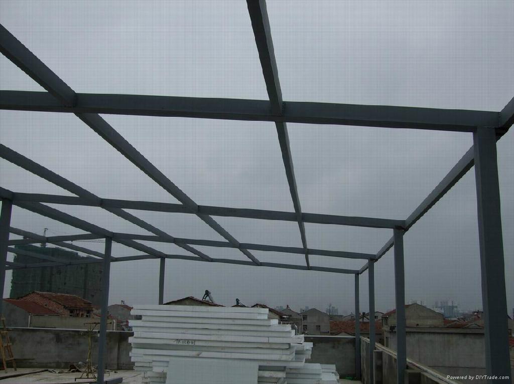 预制或活动建筑 标签: 楼顶加层价格 , 楼顶改造价格 , 钢结构加层