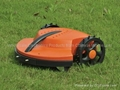 Robot Lawn Mower with tilt sensor,bump sensor,rain sensor and auto recharge