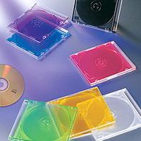 Slim PP DVD Case Black Color For Single Disc