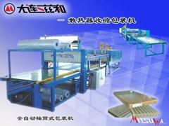 散熱器包裝機、包裝機、熱縮膜包裝機、收縮膜包裝機