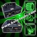 60mW green animation laser light