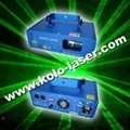 100mW green stage laser light