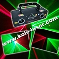 Green & Red double tunnels laser projector, laser show system 1