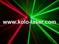 Green & Red double tunnels laser projector, laser show system 3