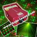 150mW New crossed star cluster laser