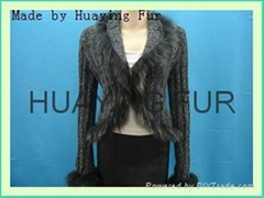 knitting-fur garment