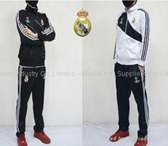 Sport suit , sport wear , soccer ball top and pant.