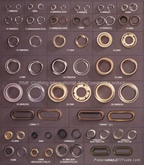 EYELETS Button