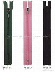 Nylon zippers series