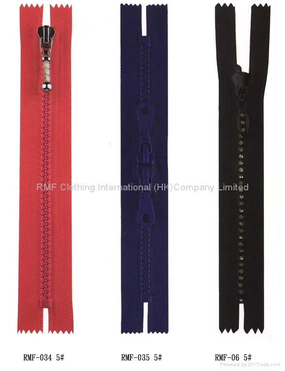 Polyester zippers 2