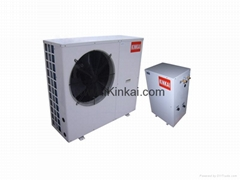 Heating/cooling house heat pump