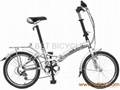 alloy folding bicycle foldable bike