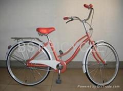 City bike lady bicycle