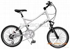 铝合金自行车城市车