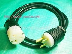 6-15P power cord US power cord, USA power cable plug