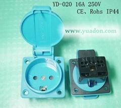 Denmark socket,Denmark industrial socket,Industry plug socket