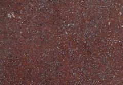 granite shouning red