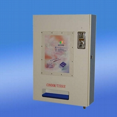Tissue/Condom machine,vending machine, candy machine, toy machine