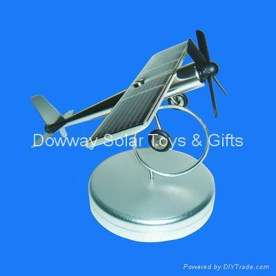 Solar Plane,Solar Toys wholesale,Solar Airplane,Solar Gifts --- NA-01 1