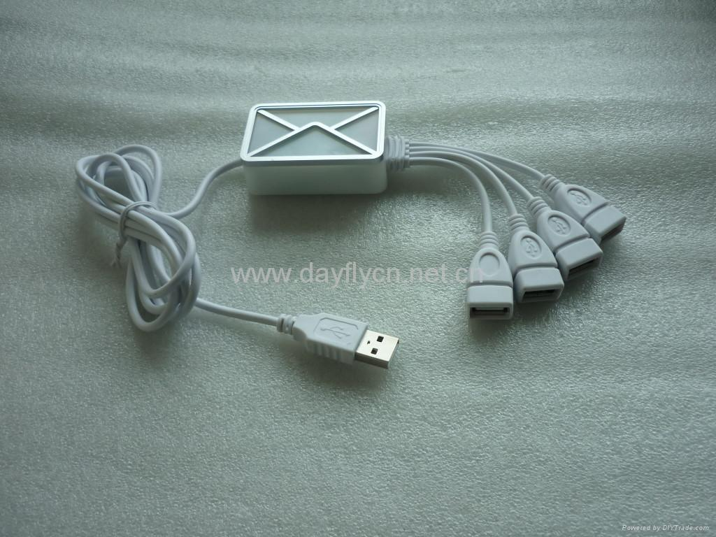 USB Webmail Notifier w/4 Ports Hub factory  5