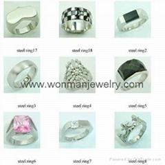 316L stainless steel jewelry necklace on wonmanjewelry
