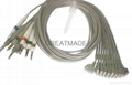 HP M1713B EKG complete lead set (4.0