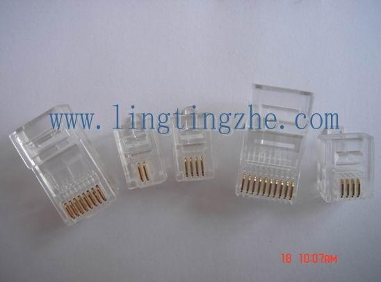 Rj9  Rj11  Rj45 Telephone Modular Plug  Modular Surface