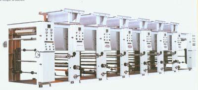 ordinary gravure color printing machine 1