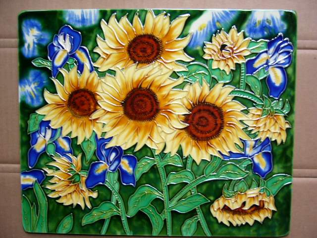 Hand Painted Ceramic Wall Tiles