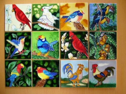 ceramic art: Design Trends in Hand-painted Ceramic Art Tile
