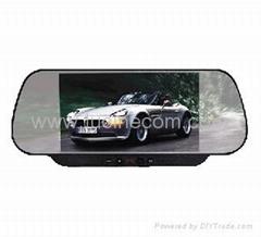 "6"" Rear View Mirror TFT LCD car truck TV VCD DVD monitor visual audio video equi"