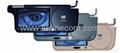 7 inch sun visor TFT LCD truck car monitor with DVD player car entertament safe 1
