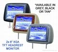 "8"" headrest TFT LCD truck car monitor"