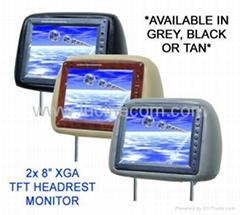 "8"" headrest TFT LCD truck car monitor car entertament safe backing system parkin"