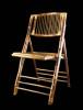 竹制竹節椅