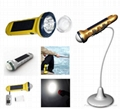 Solar LED flashlight (SPL-05) 1