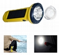 Solar LED flashlight (SPL-05) 2