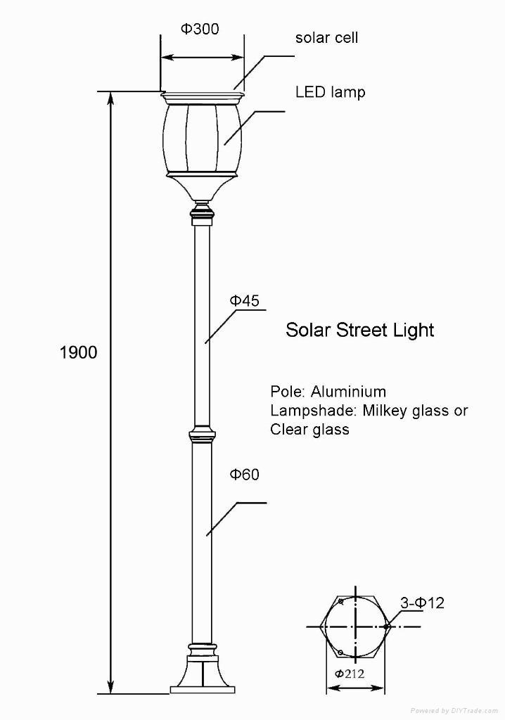 Solar Street Light (SSL-01) 3