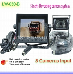 5 inch Best quality Auto camera Reverse Backing System LW-050-B